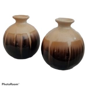 Essential Oil Diffusers - Brown & Tan - Set Of Two